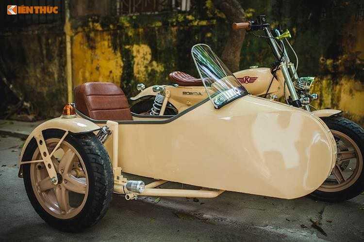 Honda Super Cub do 'cuc doc' tai Ha Noi hinh anh 5