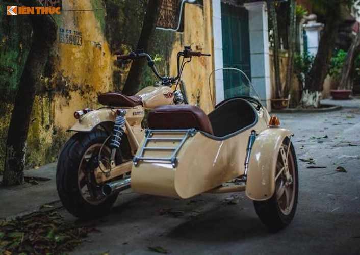 Honda Super Cub do 'cuc doc' tai Ha Noi hinh anh 8
