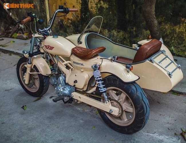 Honda Super Cub do 'cuc doc' tai Ha Noi hinh anh 9