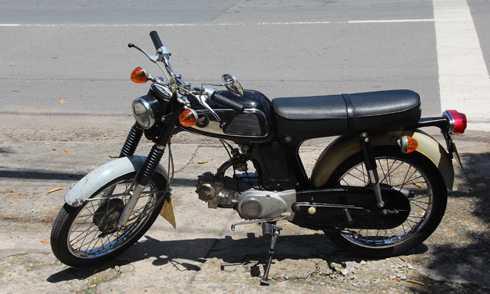 Honda 67 – mau xe 'vang bong mot thoi' xuat hien o Sai Gon hinh anh 1