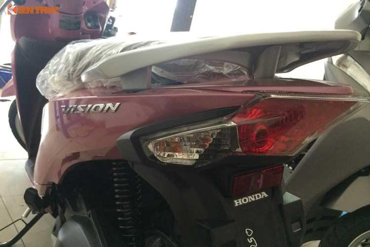 Vua ra mat, Honda Vision 2016 bi 'thet gia' 34 trieu dong hinh anh 12