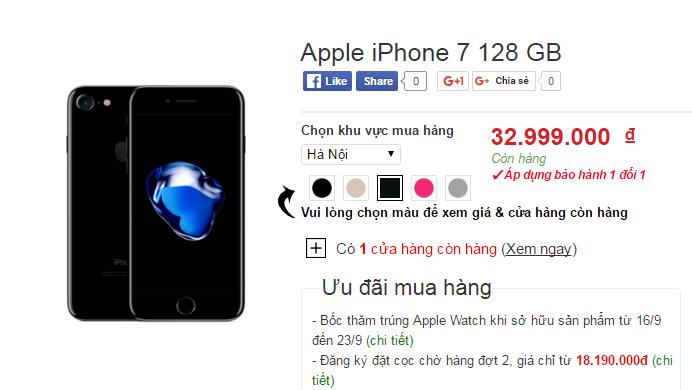 Het thoi vang hong, iPhone den bong 'len ngoi' chenh gia vai chuc trieu dong hinh anh 2