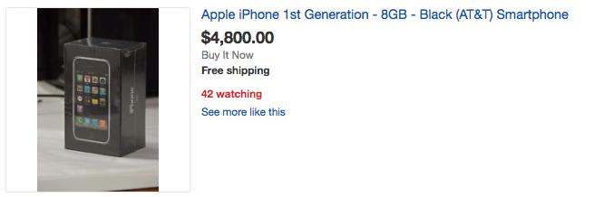 iPhone 2G duoc rao gia dat gap 10 lan iPhone 7 hinh anh 5