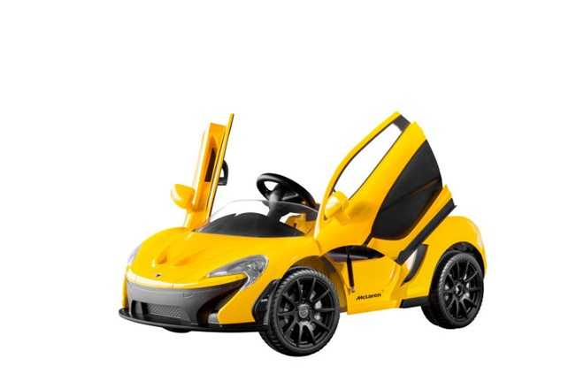 Ngam 'sieu xe' dau tien cho tre em cua McLaren hinh anh 2