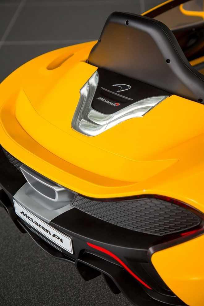 Ngam 'sieu xe' dau tien cho tre em cua McLaren hinh anh 5