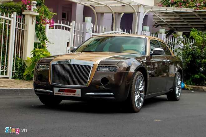 Tho Viet do Chrysler 300C thanh 'Rolls-Royce' het 200 trieu dong hinh anh 1