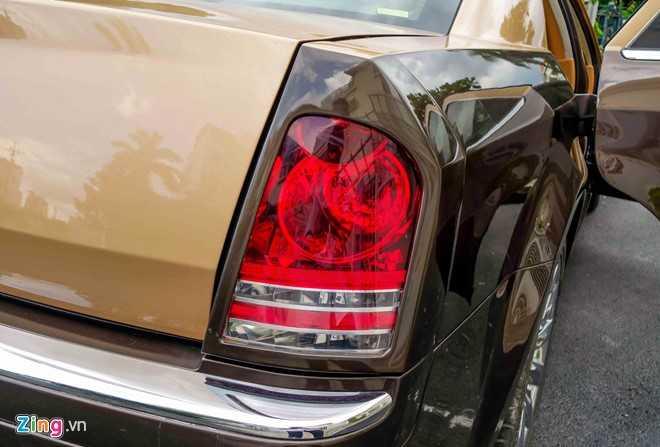 Tho Viet do Chrysler 300C thanh 'Rolls-Royce' het 200 trieu dong hinh anh 11