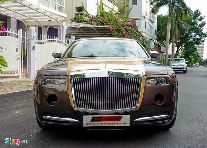 Tho Viet do Chrysler 300C thanh 'Rolls-Royce' het 200 trieu dong hinh anh 2