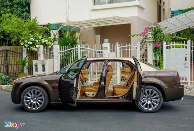 Tho Viet do Chrysler 300C thanh 'Rolls-Royce' het 200 trieu dong hinh anh 4
