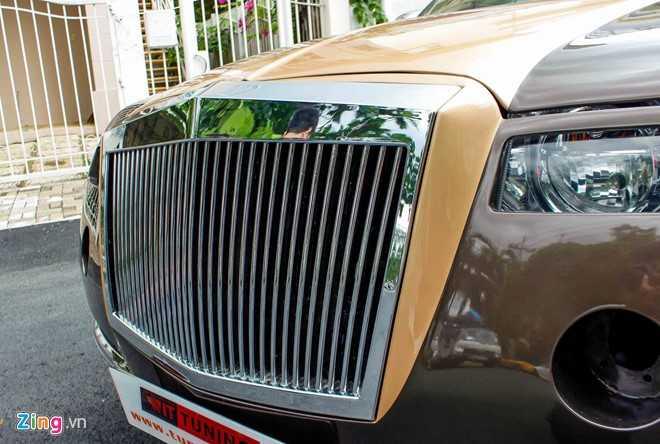 Tho Viet do Chrysler 300C thanh 'Rolls-Royce' het 200 trieu dong hinh anh 7