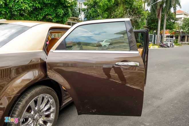 Tho Viet do Chrysler 300C thanh 'Rolls-Royce' het 200 trieu dong hinh anh 8