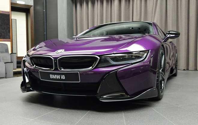 Ngam BMW i8 do chinh hang mau doc tai Abu Dhabi hinh anh 5