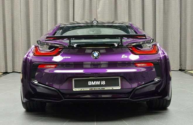 Ngam BMW i8 do chinh hang mau doc tai Abu Dhabi hinh anh 6