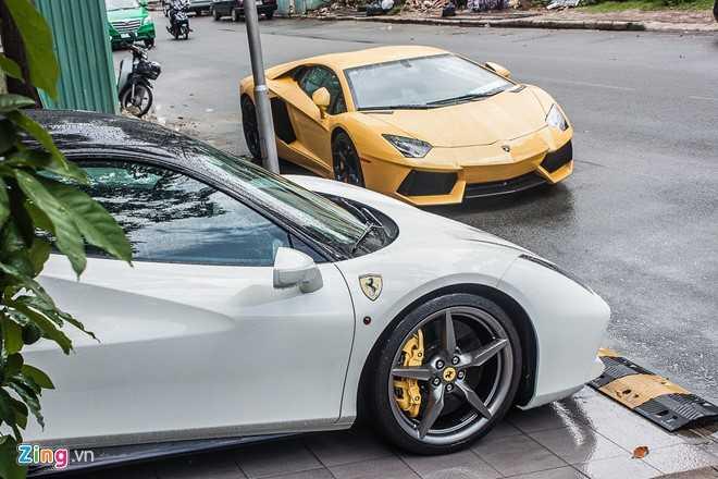 Sieu xe cua Cuong Do la 'hoi hop' bo doi Lamborghini Aventador hinh anh 1