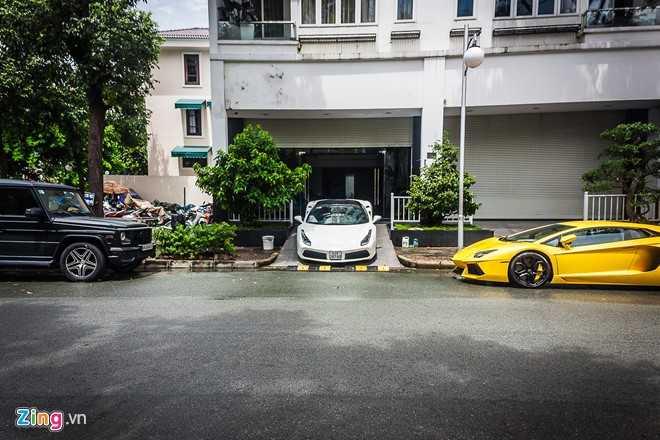 Sieu xe cua Cuong Do la 'hoi hop' bo doi Lamborghini Aventador hinh anh 2