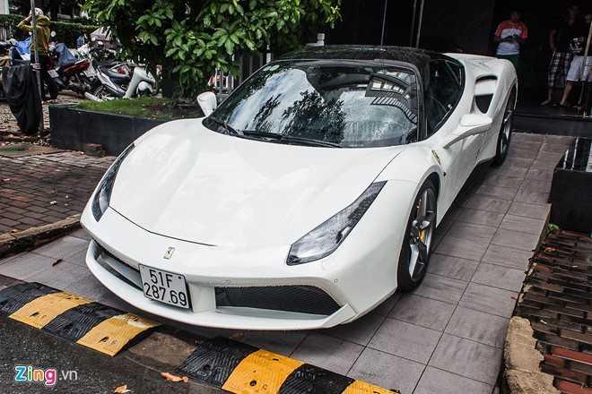 Sieu xe cua Cuong Do la 'hoi hop' bo doi Lamborghini Aventador hinh anh 3