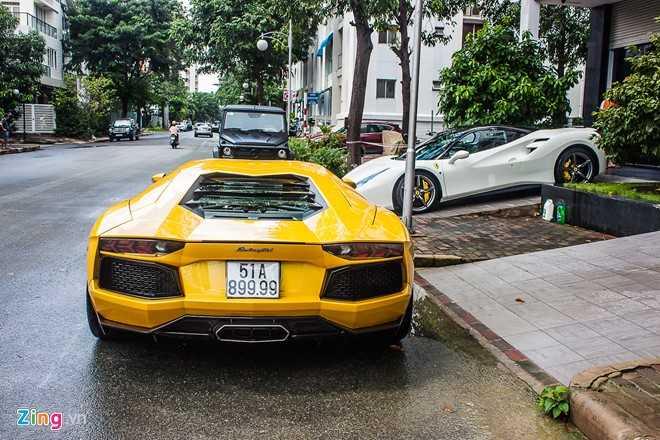 Sieu xe cua Cuong Do la 'hoi hop' bo doi Lamborghini Aventador hinh anh 5