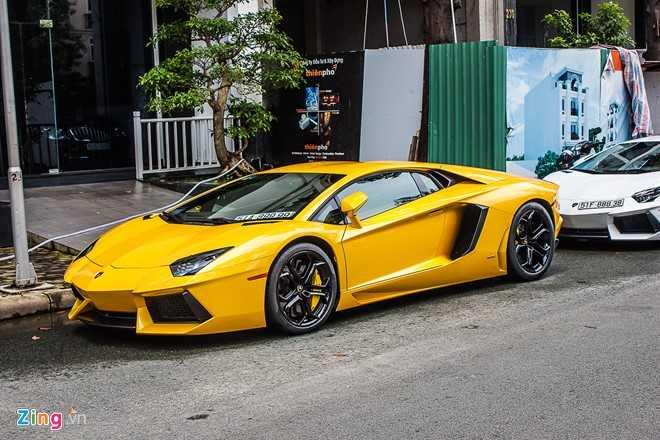 Sieu xe cua Cuong Do la 'hoi hop' bo doi Lamborghini Aventador hinh anh 6