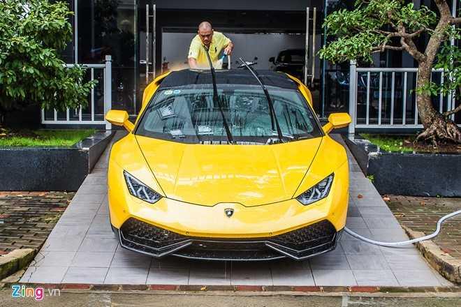 Sieu xe cua Cuong Do la 'hoi hop' bo doi Lamborghini Aventador hinh anh 8