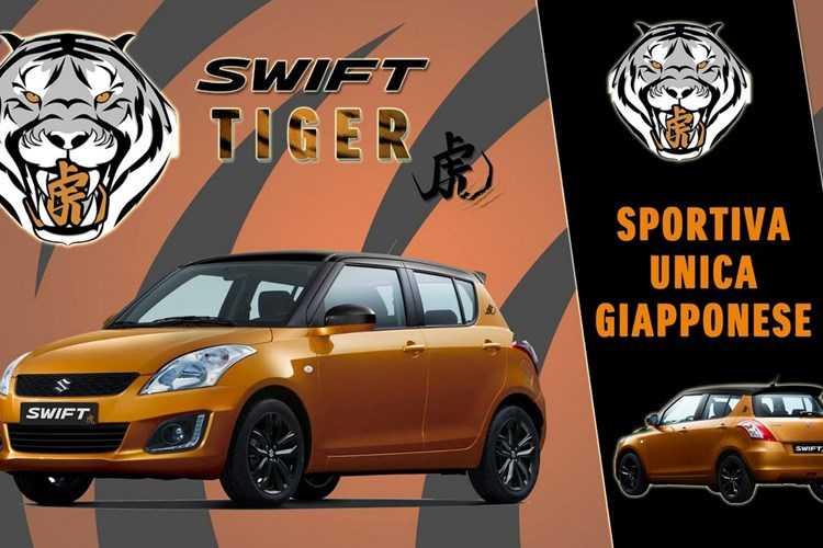 Suzuki ban dac biet Swift Tiger gia chi 339 trieu dong hinh anh 1