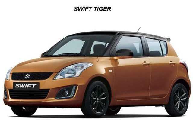 Suzuki ban dac biet Swift Tiger gia chi 339 trieu dong hinh anh 2
