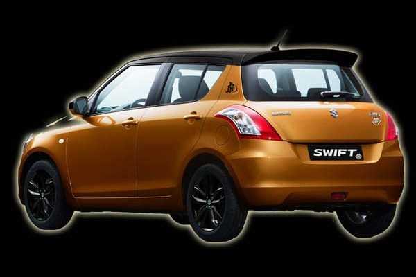 Suzuki ban dac biet Swift Tiger gia chi 339 trieu dong hinh anh 3