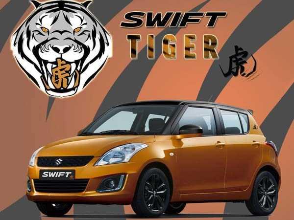 Suzuki ban dac biet Swift Tiger gia chi 339 trieu dong hinh anh 6