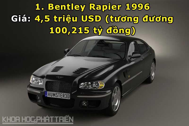 Top 10 sieu xe Bentley dat nhat trong lich su hinh anh 1