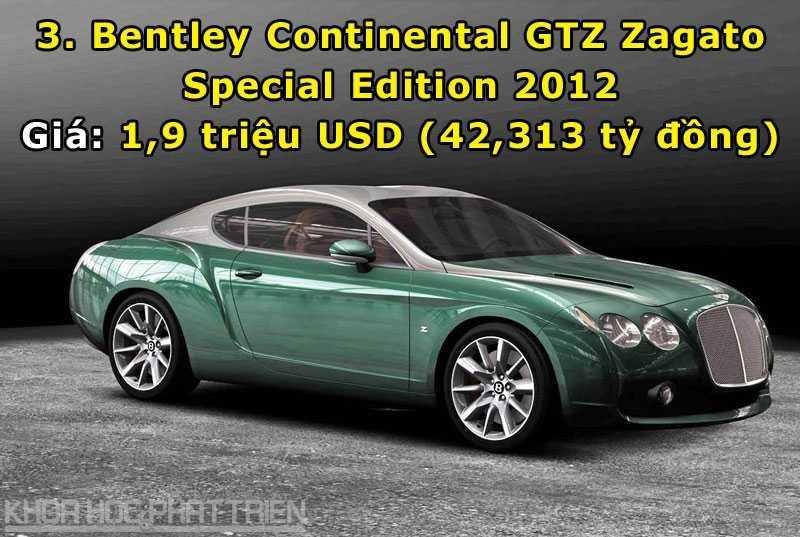 Top 10 sieu xe Bentley dat nhat trong lich su hinh anh 3