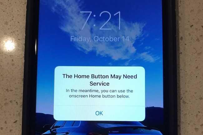 iPhone 7 bi loi phim Home hang loat, Apple da lieu truoc? hinh anh 1