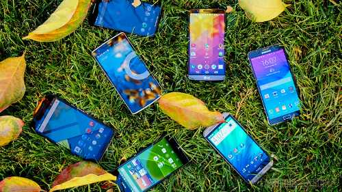 Smartphone cao cap giam gia dong loat hinh anh 1