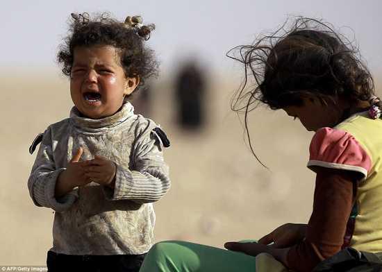 Cuoc song khac nghiet cua nhung dua tre Mosul ngay chien su hinh anh 13