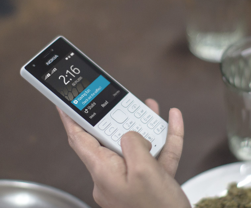 Nokia 216 len ke tai Viet Nam voi gia 820.000 dong hinh anh 1