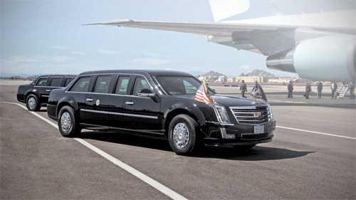 Tan tong thong My Donald Trump se dung limousine boc thep mói hinh anh 1