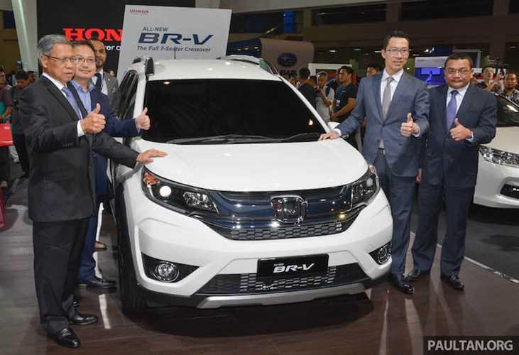 Honda BR-V moi: Xe 7 cho, gia chi 292 trieu dong hinh anh 1