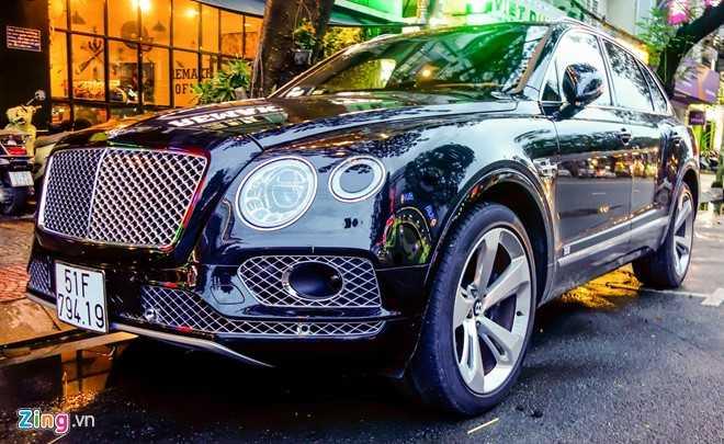 Ngam Bentley Bentayga - sieu SUV gia 19 ty dong o Sai Gon hinh anh 1