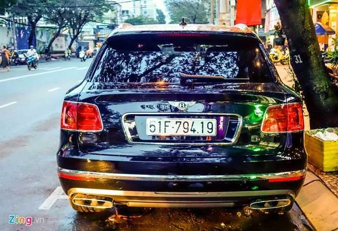 Ngam Bentley Bentayga - sieu SUV gia 19 ty dong o Sai Gon hinh anh 3