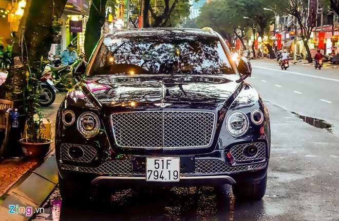 Ngam Bentley Bentayga - sieu SUV gia 19 ty dong o Sai Gon hinh anh 4