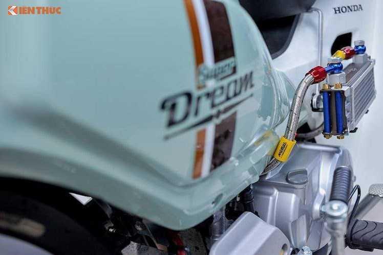 Honda Super Dream 110 phien ban 2016 do 'chat lu' hinh anh 6