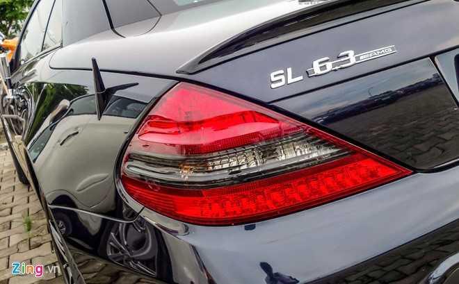 Ngam xe the thao hiem Mercedes SL63 AMG cua dai gia Sai Gon hinh anh 5
