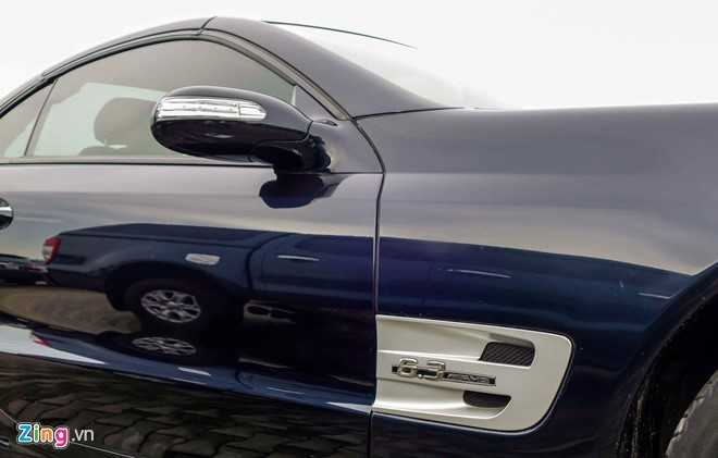 Ngam xe the thao hiem Mercedes SL63 AMG cua dai gia Sai Gon hinh anh 7