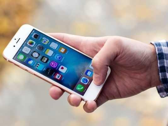 Con khung hoang iPhone 6S dang lon dan hinh anh 1