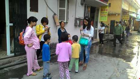 Chay 'chuong cop' o tang 5 khu tap the giua Thu do hinh anh 2