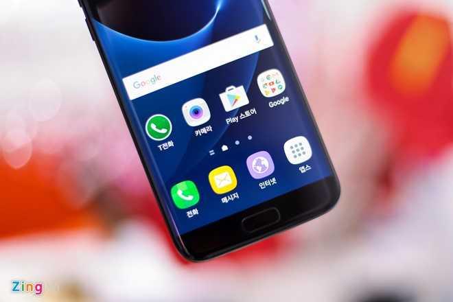 Ngam Samsung Galaxy S7 edge mau den bong dau tien tai Viet Nam hinh anh 10