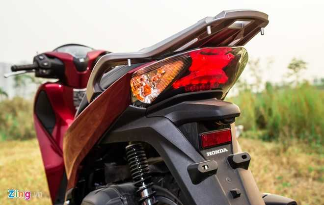 Ngam Honda SH 150i ABS 2017 mau do, gia 90 trieu dong vua ban o Viet Nam hinh anh 5