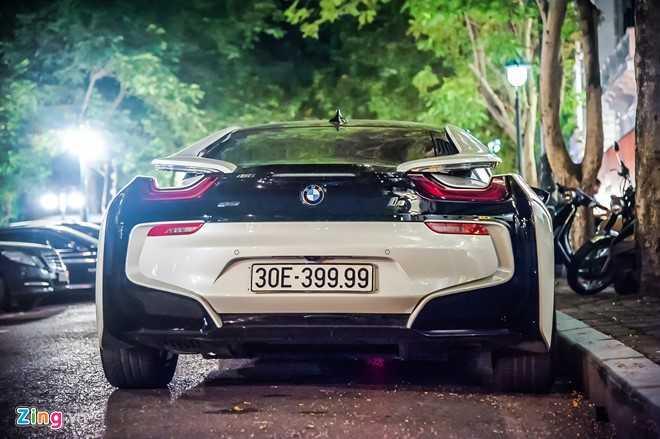 Ngam sieu xe the thao BMW i8 7 ty dong tren duong pho Viet Nam hinh anh 9