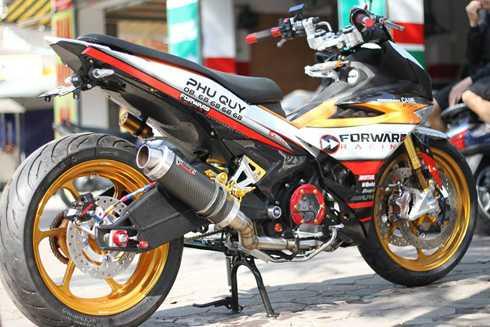 Yamaha Exciter 150 do do choi khung tai Ha Noi hinh anh 4
