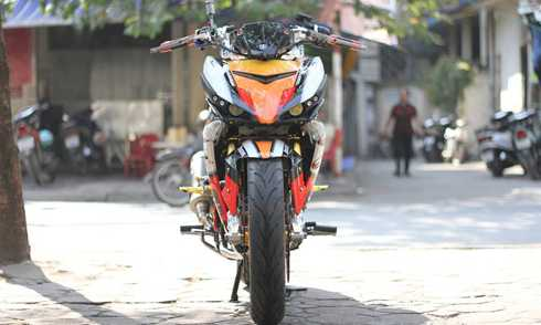 Yamaha Exciter 150 do do choi khung tai Ha Noi hinh anh 1