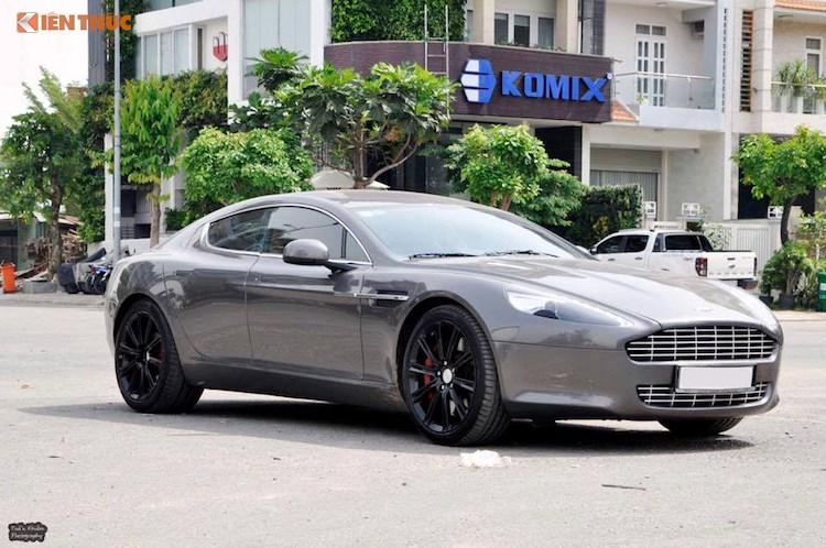 'Hang doc' Aston Martin Rapide hon 5 ty dong tai Viet Nam hinh anh 1