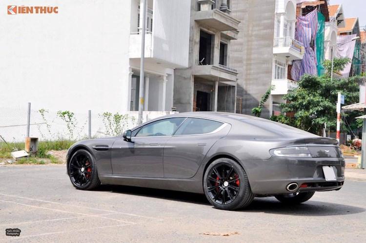 'Hang doc' Aston Martin Rapide hon 5 ty dong tai Viet Nam hinh anh 4